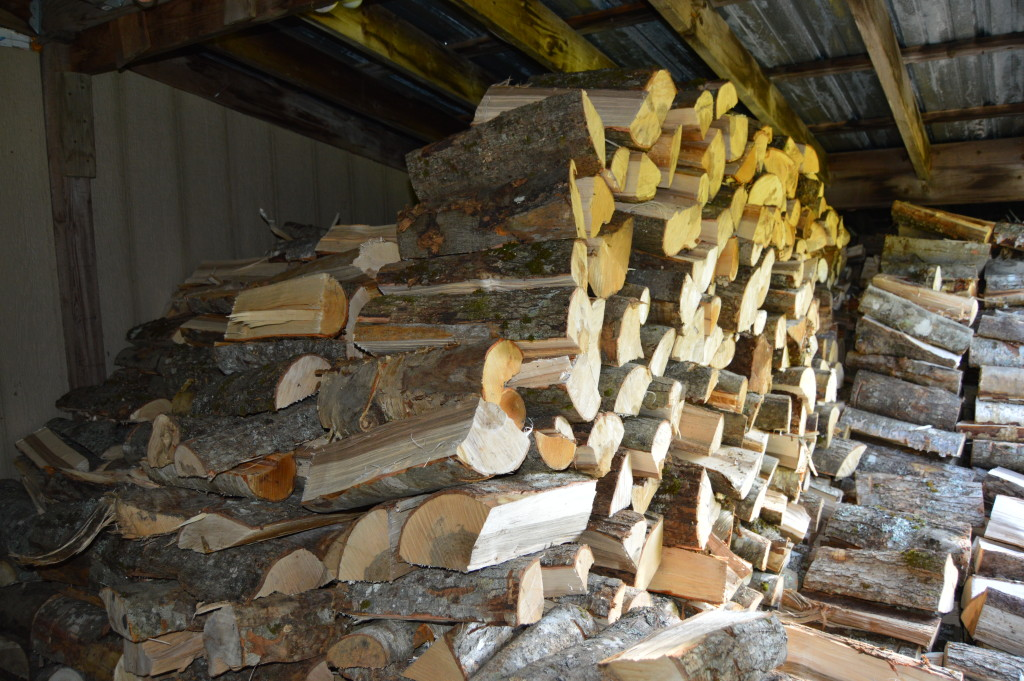 A Full Woodshed