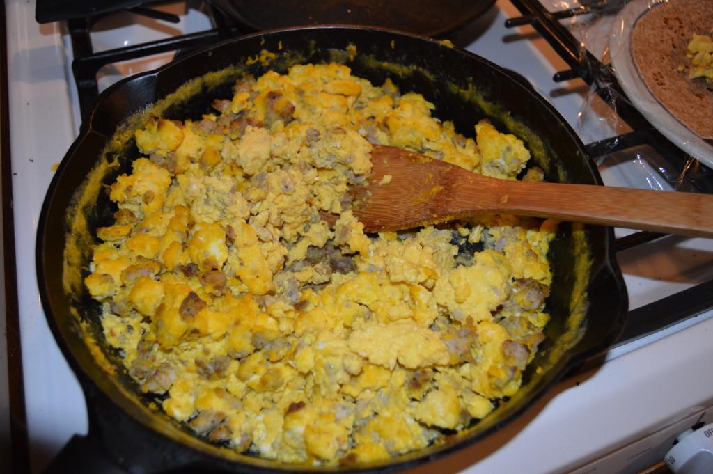 Sausage Egg Scramble